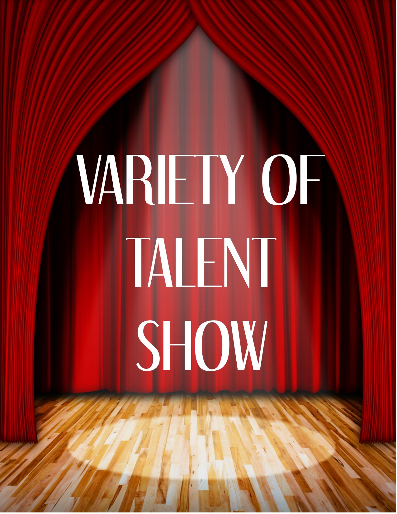 Variety of talent show